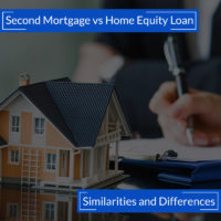Second Mortgage Vs Home Equity